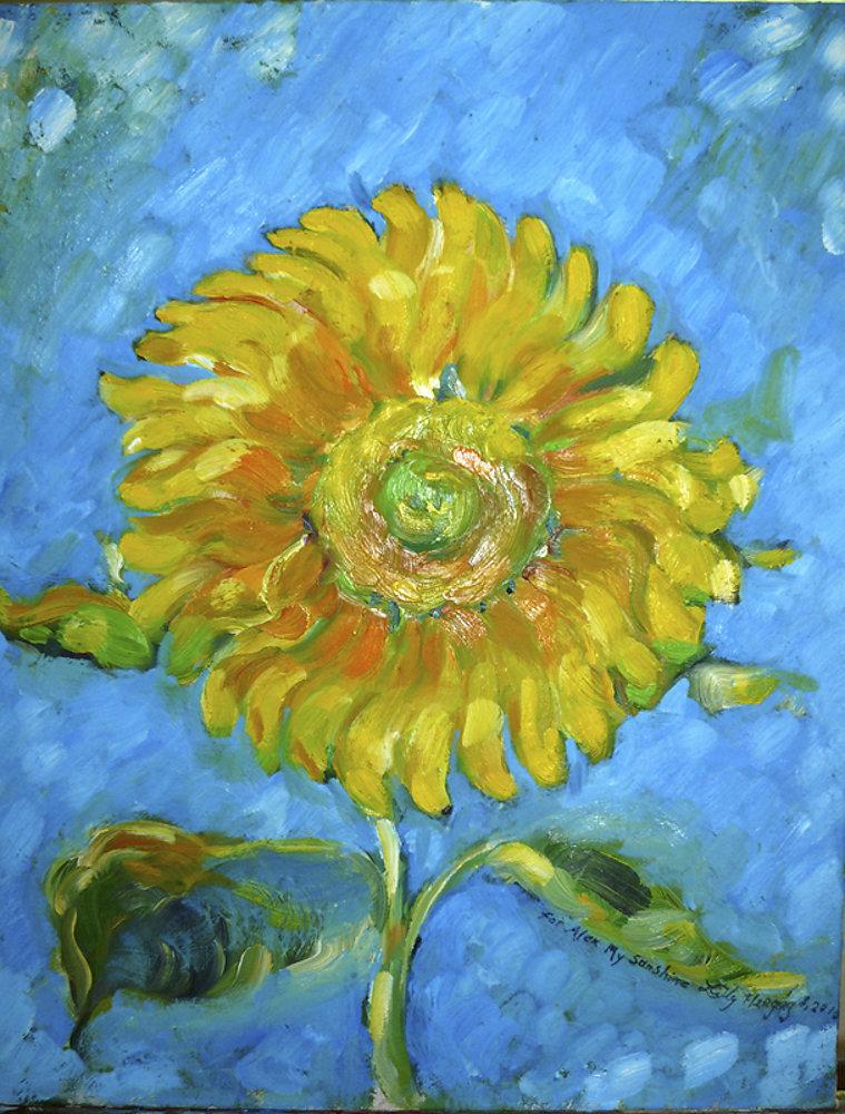 Alex's Sunflower